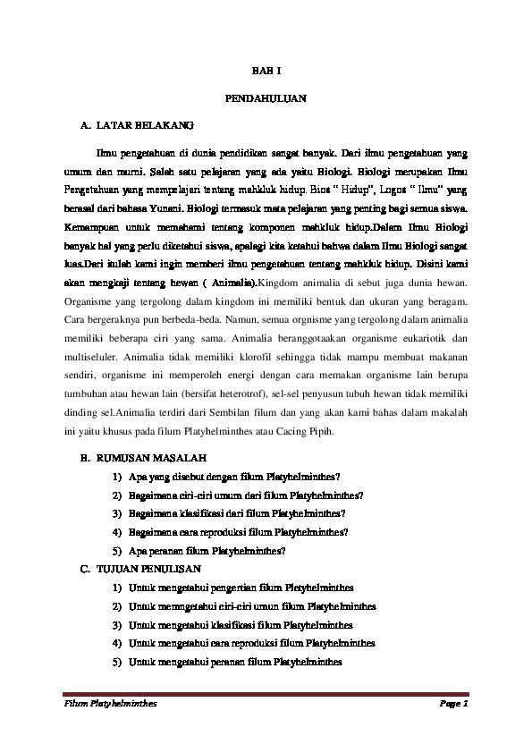 makalah biológiai nemathelminthes üröm kezelése recept