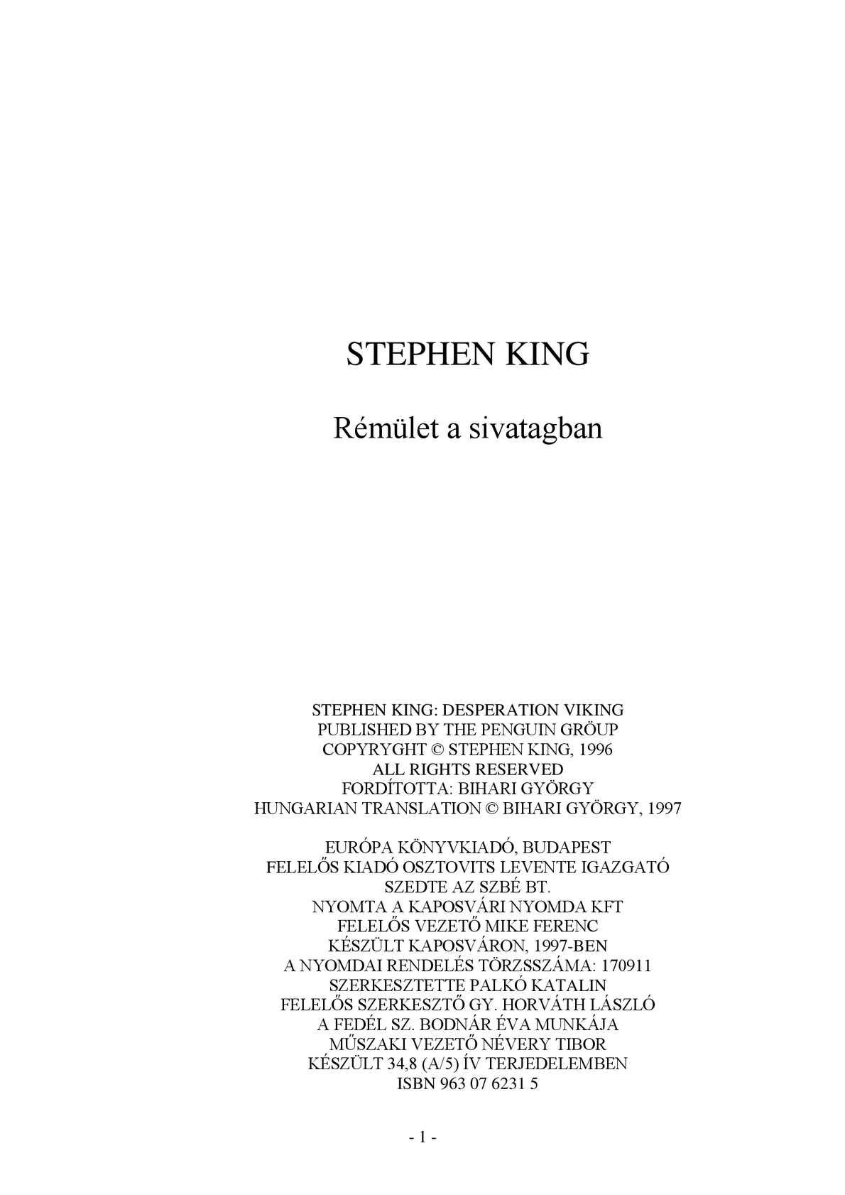 K. | Régi magyar szólások és közmondások | Kézikönyvtár