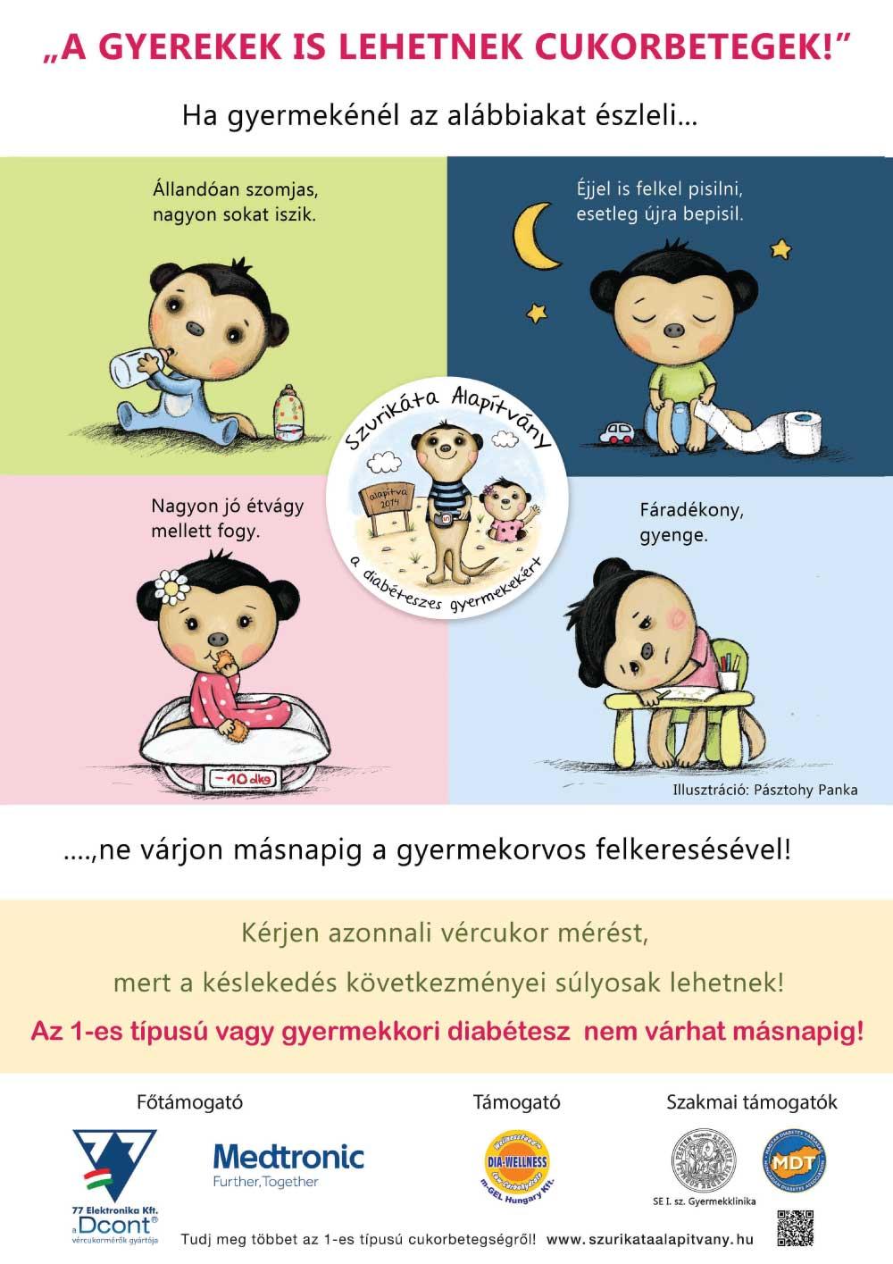 gyermekkori cukorbetegség első jelei helmint listát