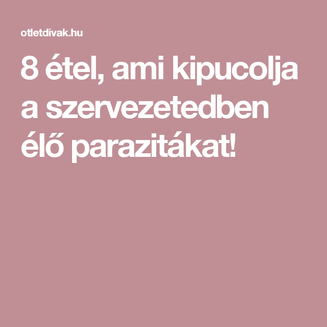 A parazitaűzés 5 természetes módja - prokontra.hu