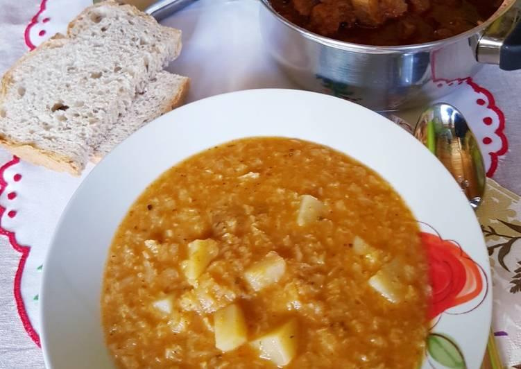 Sárgaborsó főzelék (Beton főzelék) recept   Recipe   Ételek, Recept, Receptek