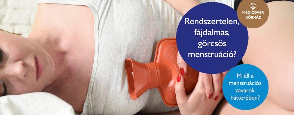 férgek menstruációs kezelés során