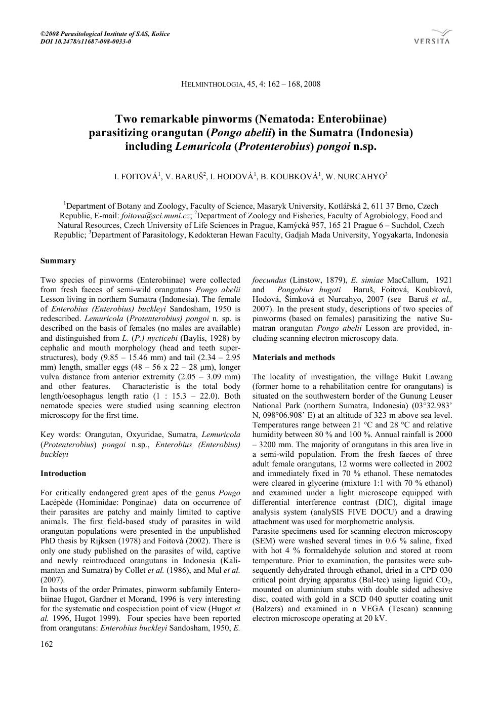 HELMINTHOLOGIA. Krizsán Gergely dr. - PDF Free Download