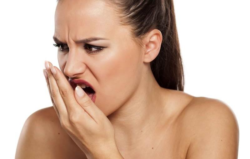 Rossz lehelet fájdalom a gyomor területén