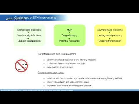 Diagnosztikai kezelés és a helminthiasis megelőzése. Beöntés, mint a harc eszköze