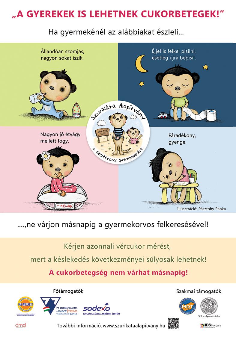 cukorbetegség tünetei babáknál