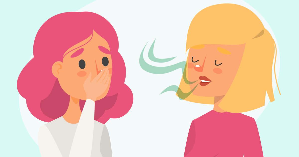 a rossz lehelet nem a gyomornak köszönhető