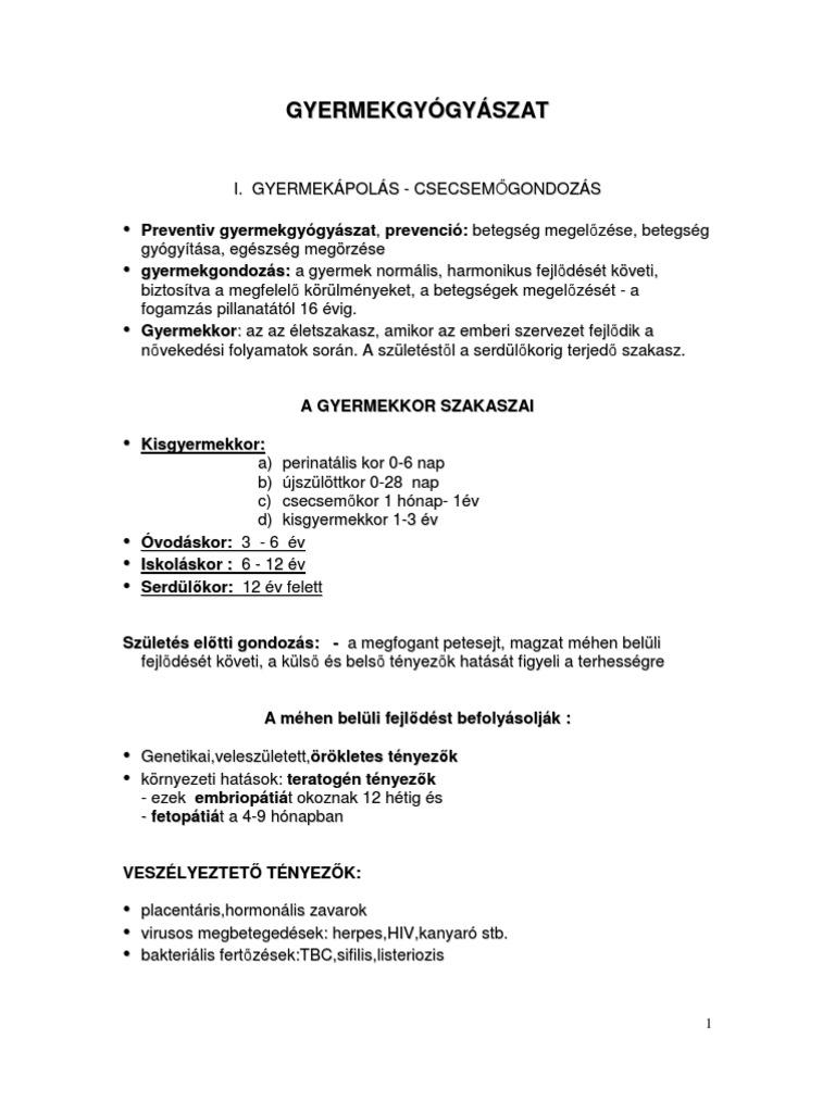 Helmint kezelés MS - prokontra.hu