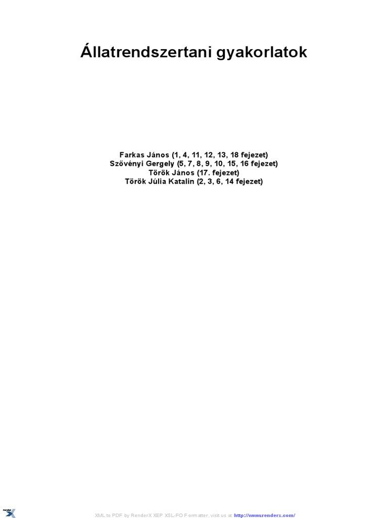 Platyhelminthes 3 példa