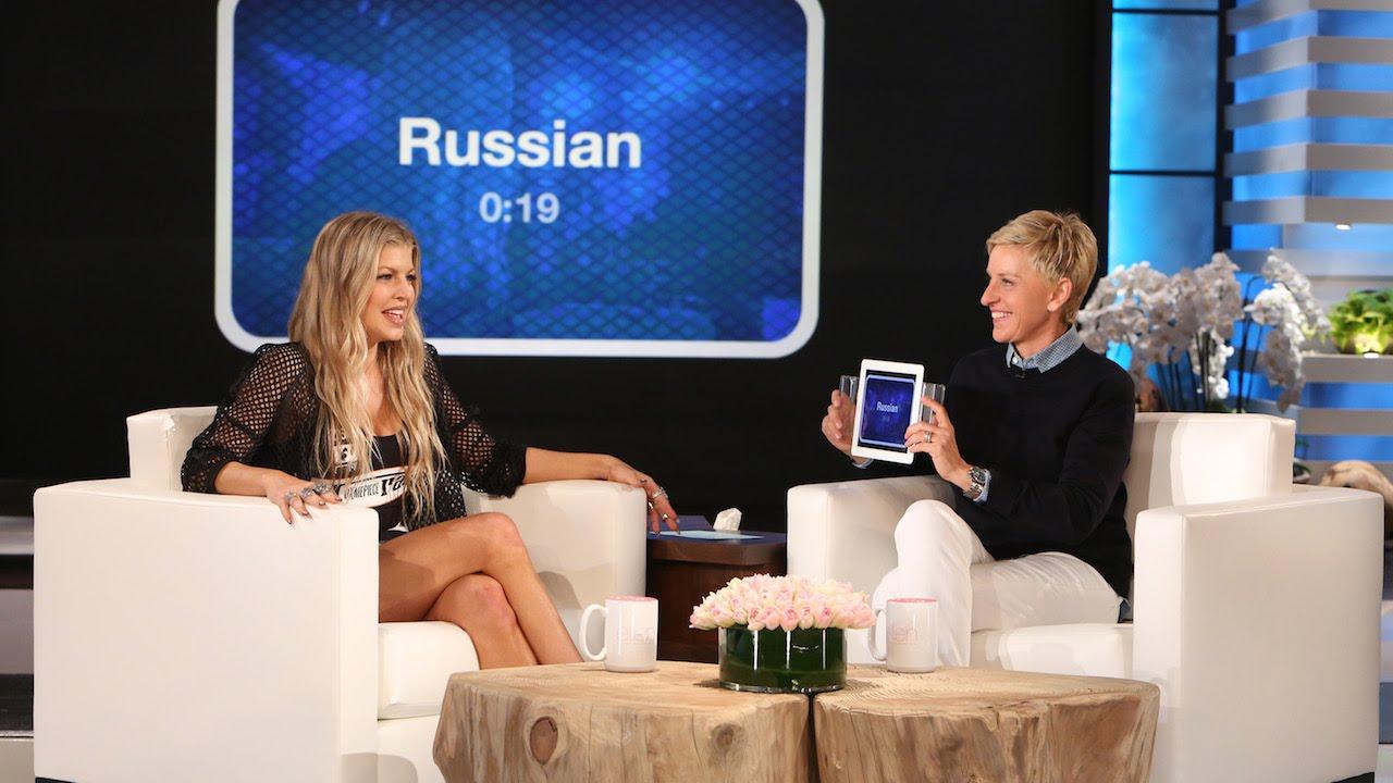 Fergie volt a legjobb levegőben lévő reakciója, hogy megtudja, az albuma No. 1