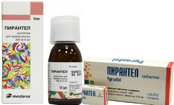 gyógyszer a férgek pirantel ára