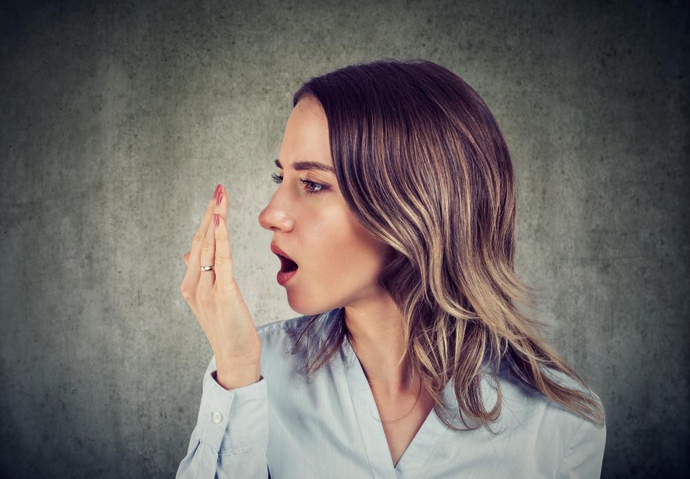 rossz lehelet szájszárazság