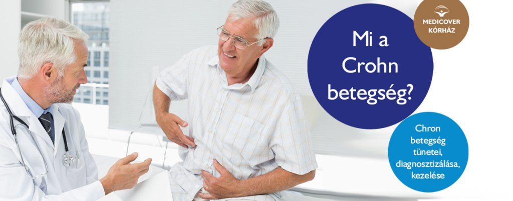 helmintikus terápia Crohn kór