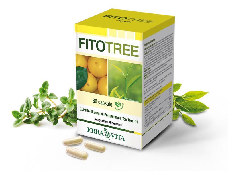 Erba Vita FitoTree grapefruit és teafa kapszula – 30db