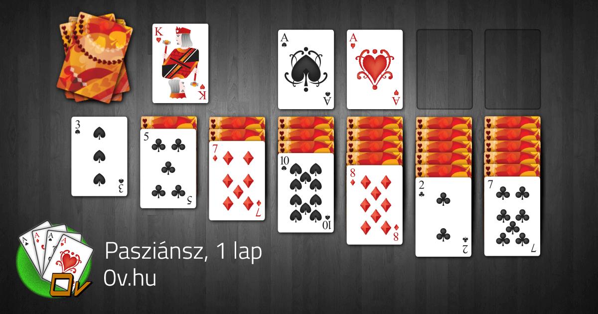 Ingyenes cellás pasziánsz. pasziánsz klasszikus játék 1 kártyával ingyenes   koolsol