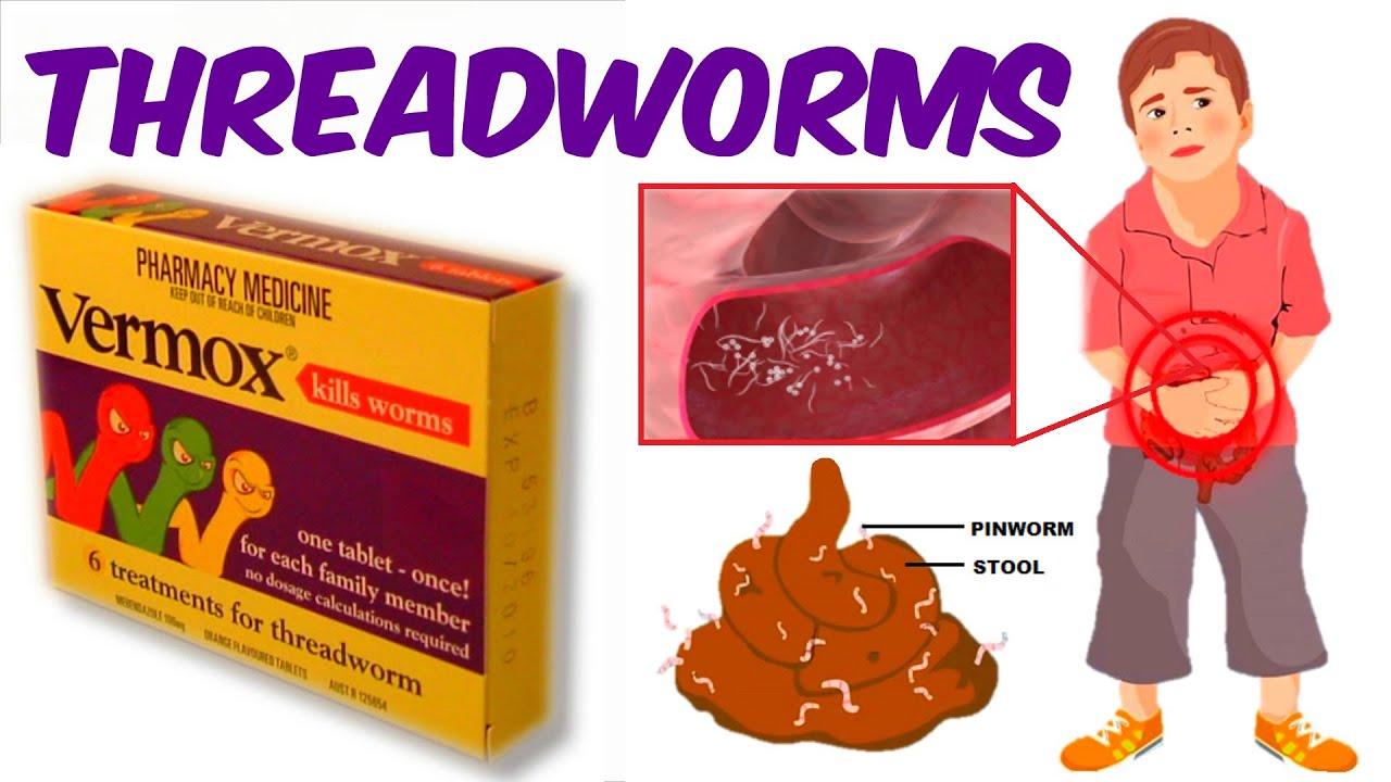 pinworms jönnek ki anthelmintikus proto x