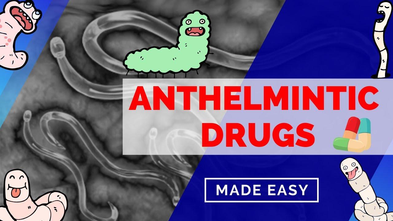 pyrantel antihelminthic gyógyszerek