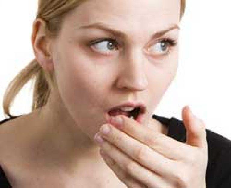 evés után az aceton szaga a szájból