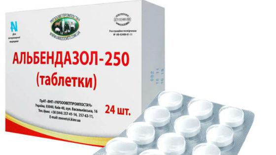 3 tabletta férgek számára férgek számára