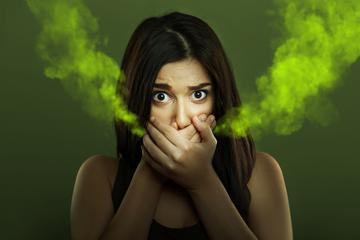 vesebetegség és rossz lehelet