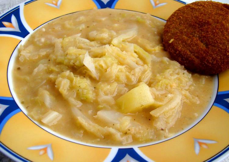 Ha egy laktató és finom recept kellene: Krumplis kelkáposzta főzelék
