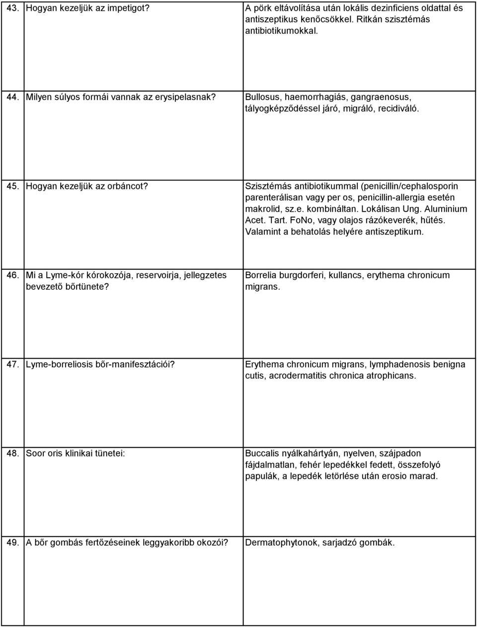 herxheimer reakció paraziták bélfergesseg elleni gyógyszer