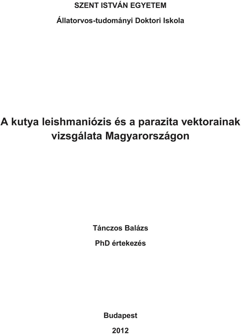 paraziták és vektorok szerzői