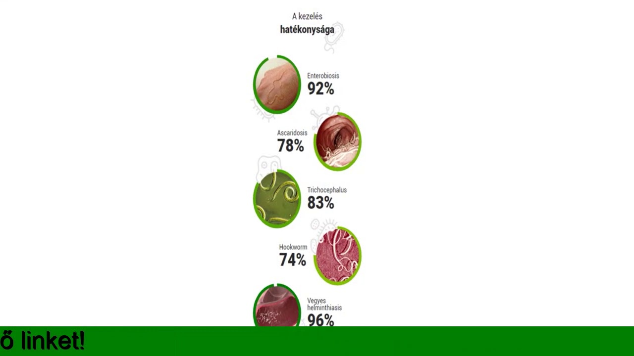 étrend helminták kezelésére